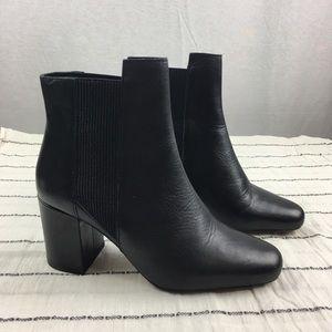 Zara Woman Block Heel Boots